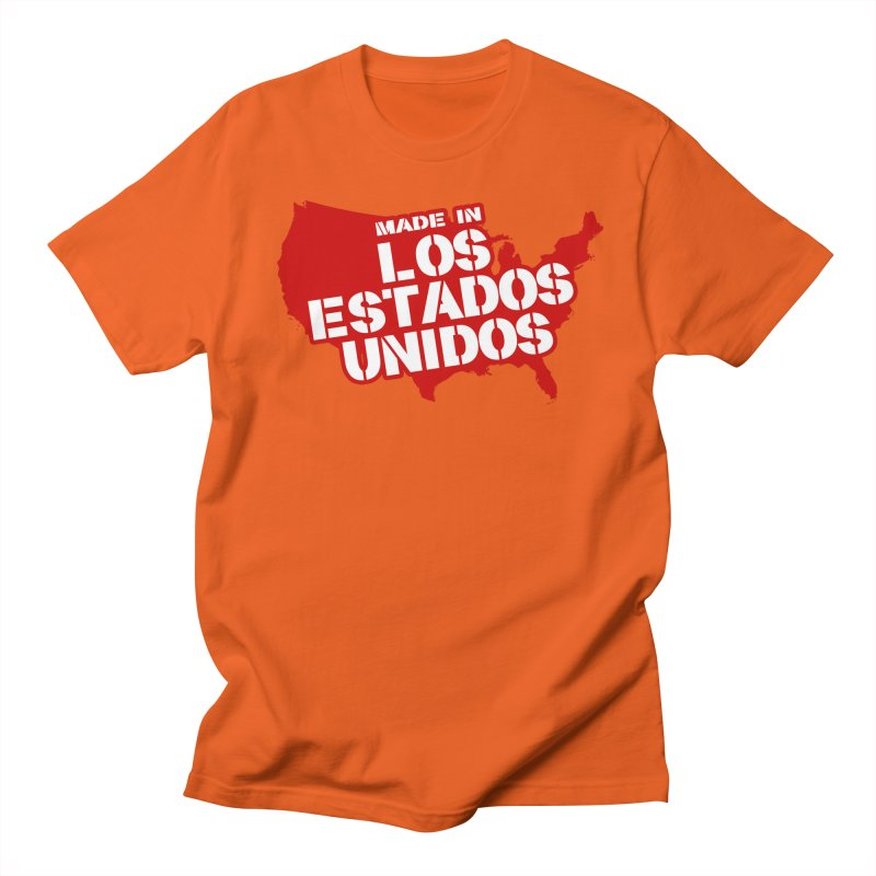 Made In Los Estados Unidos Women's Unisex T-Shirt by The David Feldman Show Official Merch Store