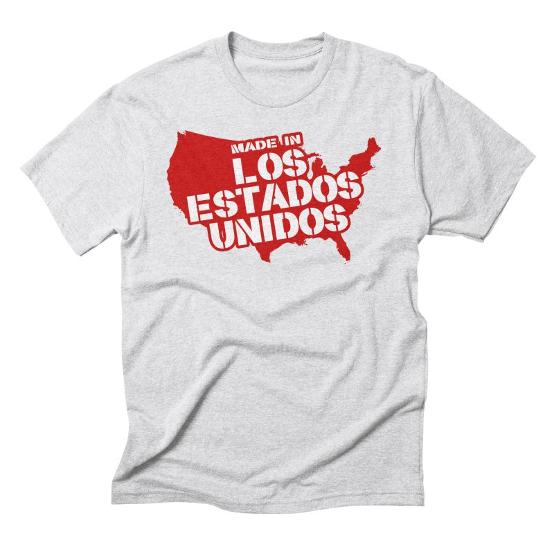Made In Los Estados Unidos Men's Triblend T-Shirt by The David Feldman Show Official Merch Store