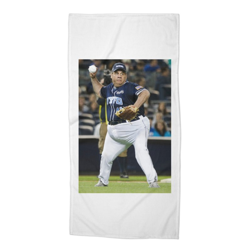 The Chris Christie Collection Accessories Beach Towel by The David Feldman Show Official Merch Store