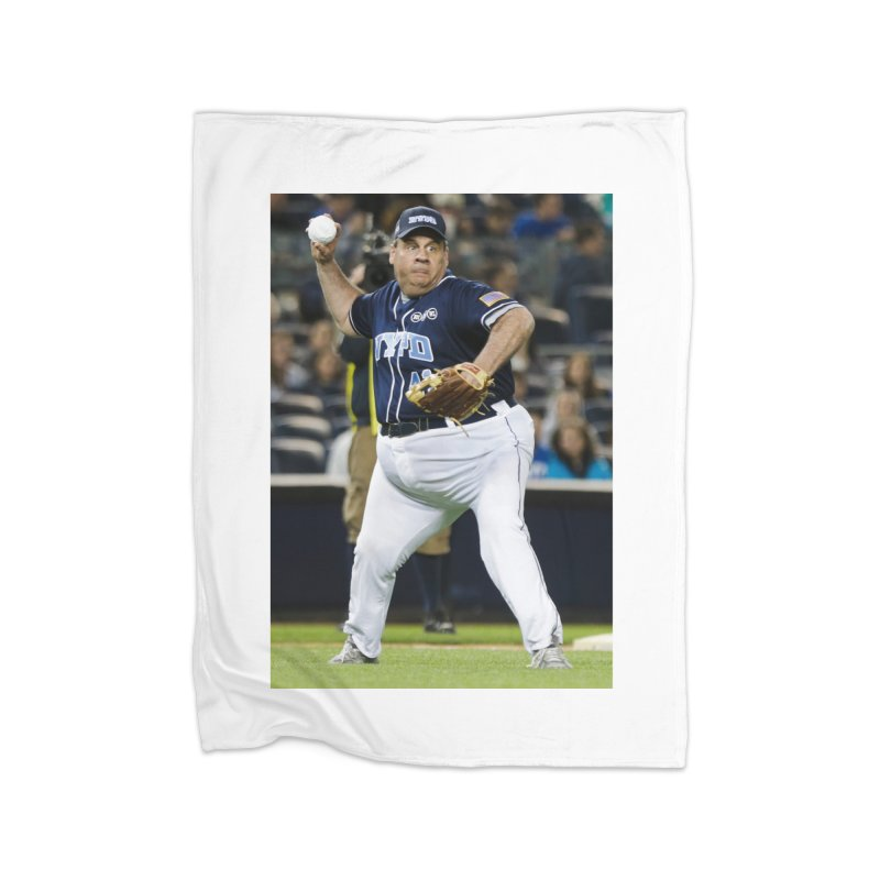 The Chris Christie Collection Home Fleece Blanket Blanket by The David Feldman Show Official Merch Store