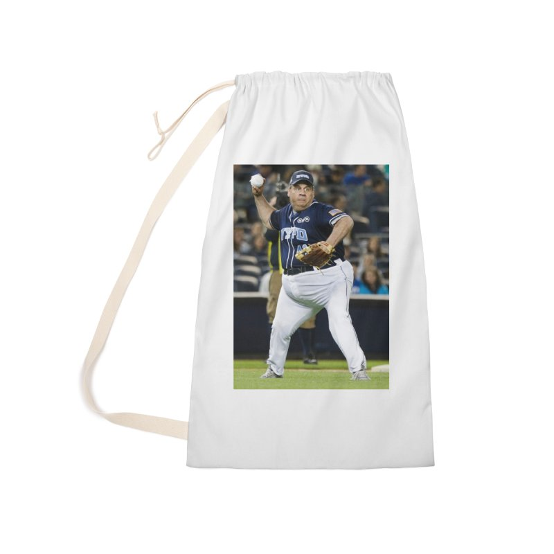 The Chris Christie Collection Accessories Laundry Bag Bag by The David Feldman Show Official Merch Store