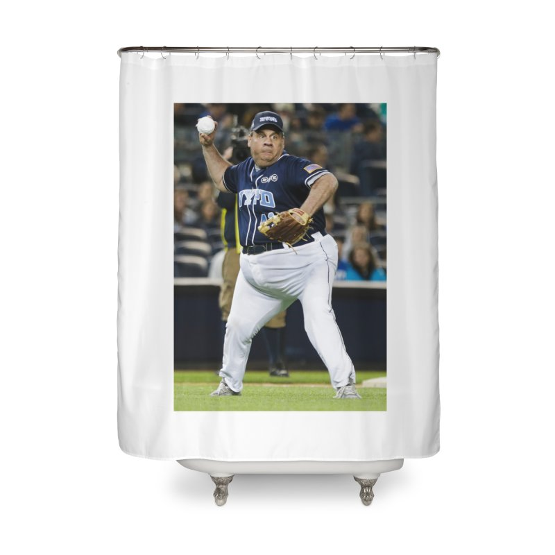 The Chris Christie Collection Home Shower Curtain by The David Feldman Show Official Merch Store
