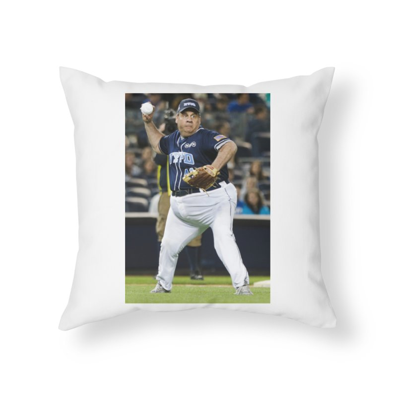 The Chris Christie Collection Home Throw Pillow by The David Feldman Show Official Merch Store