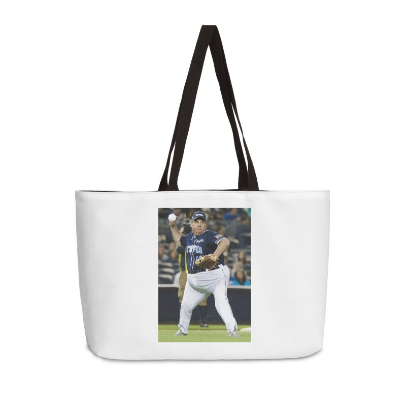 The Chris Christie Collection Accessories Weekender Bag Bag by The David Feldman Show Official Merch Store
