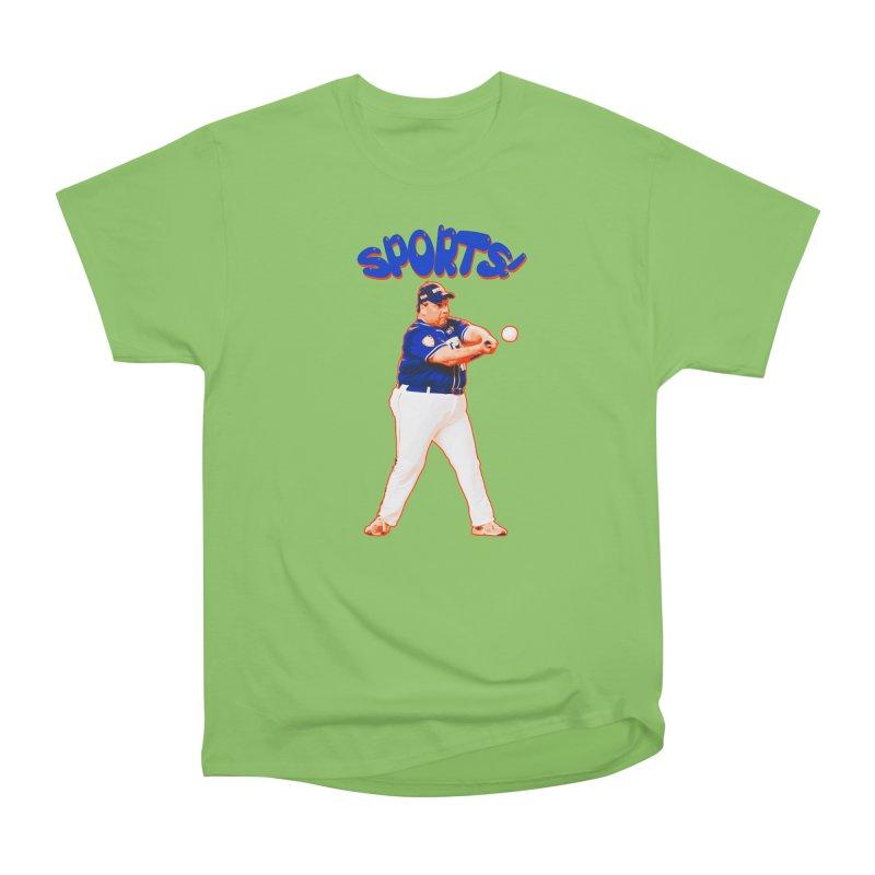 Chris Christie 'Sports' Edition Men's Heavyweight T-Shirt by The David Feldman Show Official Merch Store