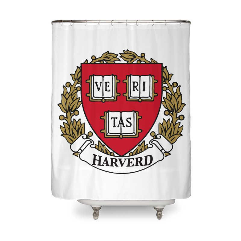 Harverd Home Shower Curtain by The David Feldman Show Official Merch Store