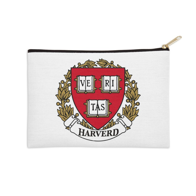 Harverd Accessories Zip Pouch by The David Feldman Show Official Merch Store