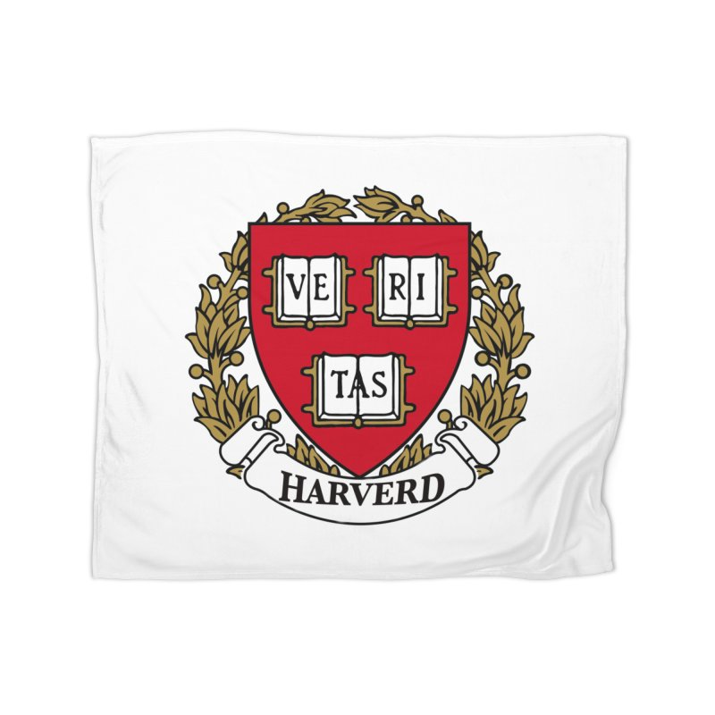 Harverd Home Fleece Blanket Blanket by The David Feldman Show Official Merch Store