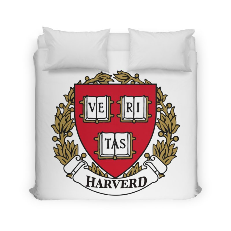 Harverd Home Duvet by The David Feldman Show Official Merch Store