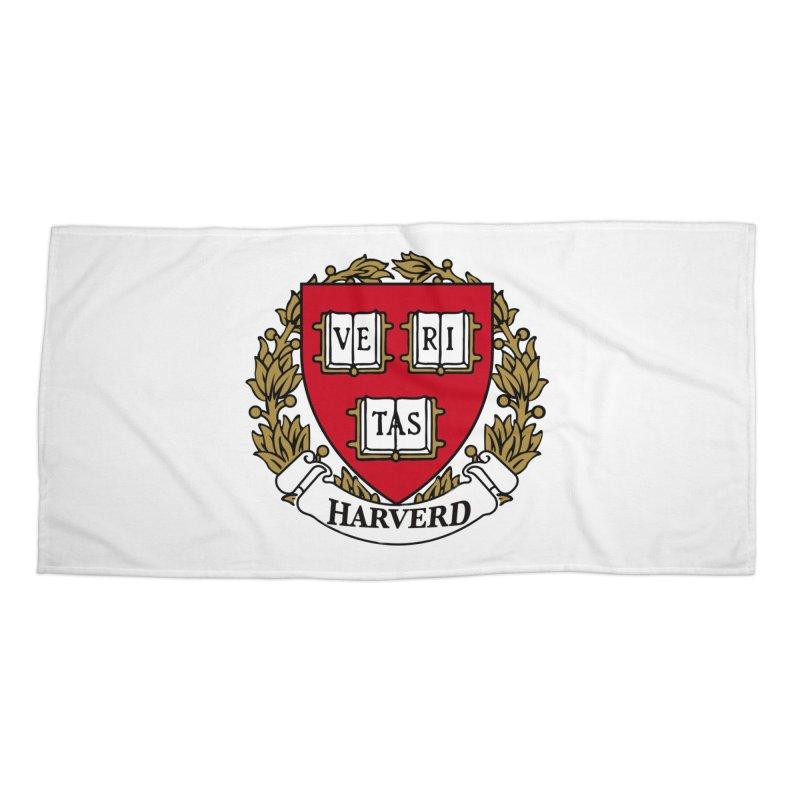 Harverd Accessories Beach Towel by The David Feldman Show Official Merch Store