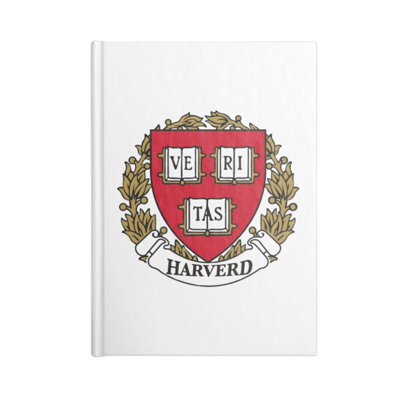 Harverd Accessories Lined Journal Notebook by The David Feldman Show Official Merch Store