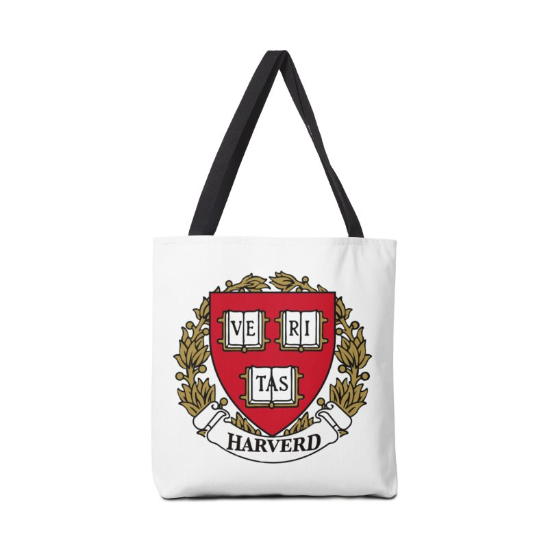Harverd Accessories Tote Bag Bag by The David Feldman Show Official Merch Store