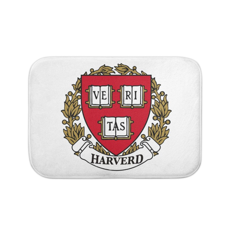 Harverd Home Bath Mat by The David Feldman Show Official Merch Store