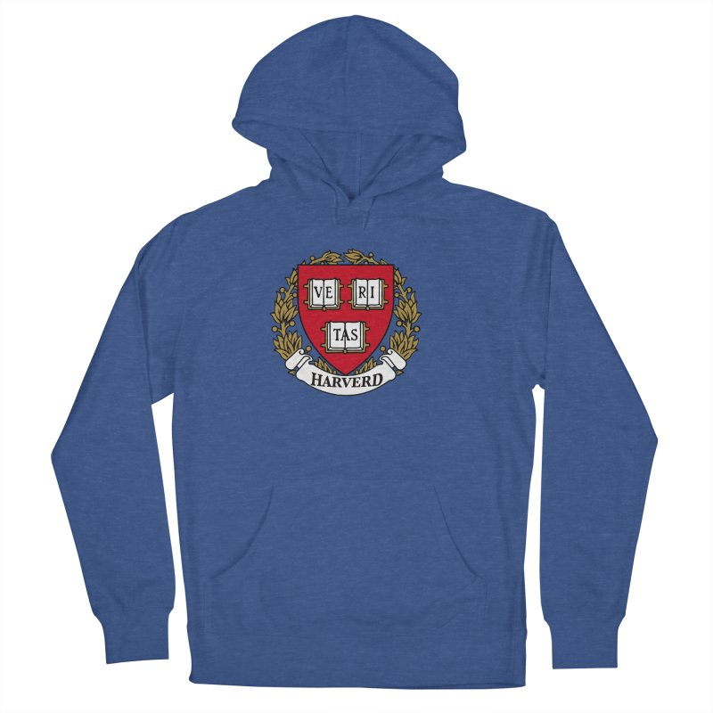 Harverd Women's French Terry Pullover Hoody by The David Feldman Show Official Merch Store