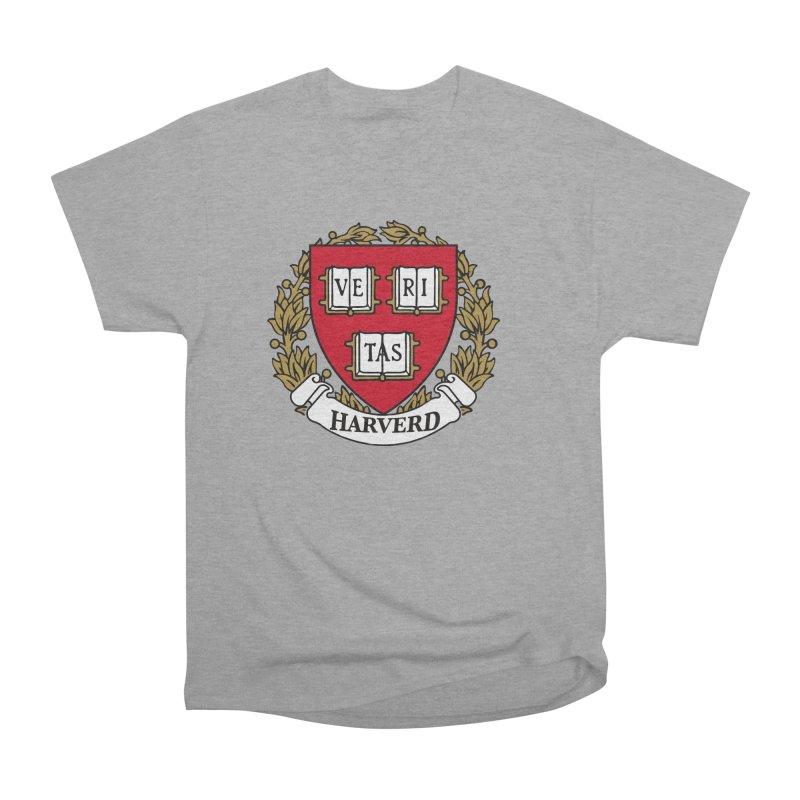 Harverd Women's Heavyweight Unisex T-Shirt by The David Feldman Show Official Merch Store