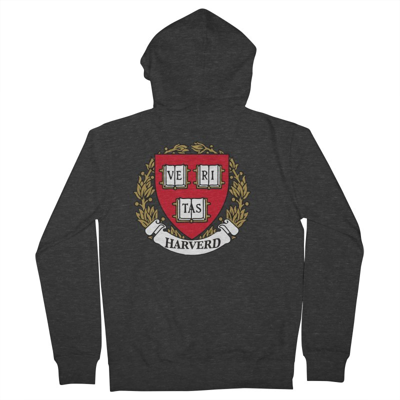 Harverd Men's French Terry Zip-Up Hoody by The David Feldman Show Official Merch Store