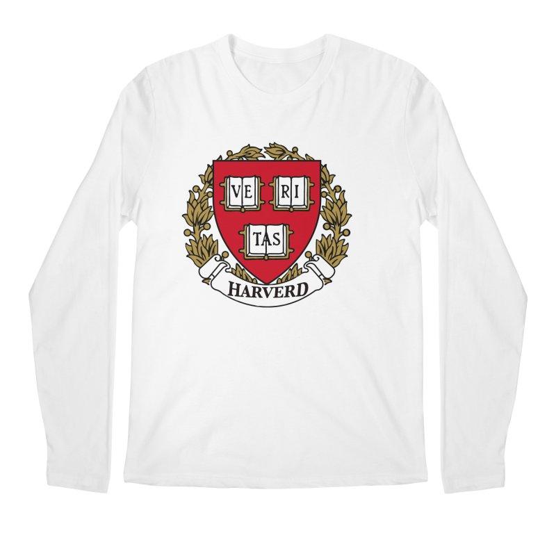 Harverd Men's Longsleeve T-Shirt by The David Feldman Show Official Merch Store
