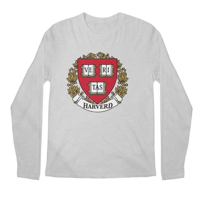 Harverd Men's Regular Longsleeve T-Shirt by The David Feldman Show Official Merch Store