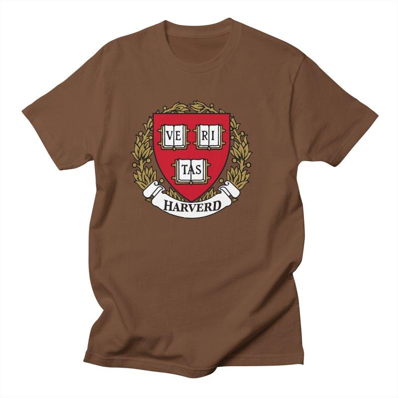 Harverd Women's Regular Unisex T-Shirt by The David Feldman Show Official Merch Store