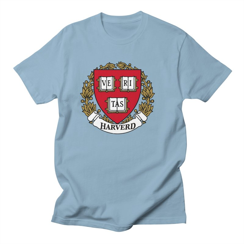 Harverd Men's Regular T-Shirt by The David Feldman Show Official Merch Store