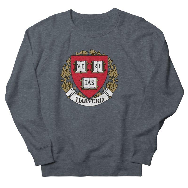 Harverd Women's French Terry Sweatshirt by The David Feldman Show Official Merch Store