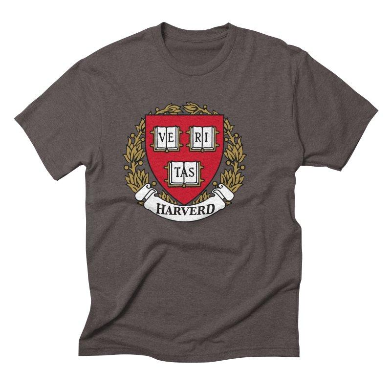 Harverd Men's Triblend T-Shirt by The David Feldman Show Official Merch Store