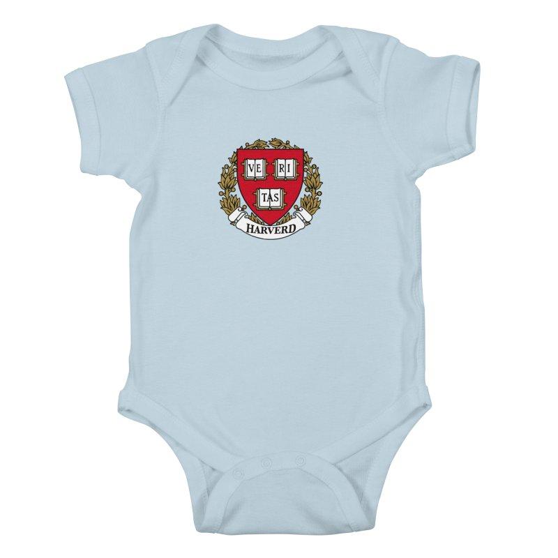 Harverd Kids Baby Bodysuit by The David Feldman Show Official Merch Store