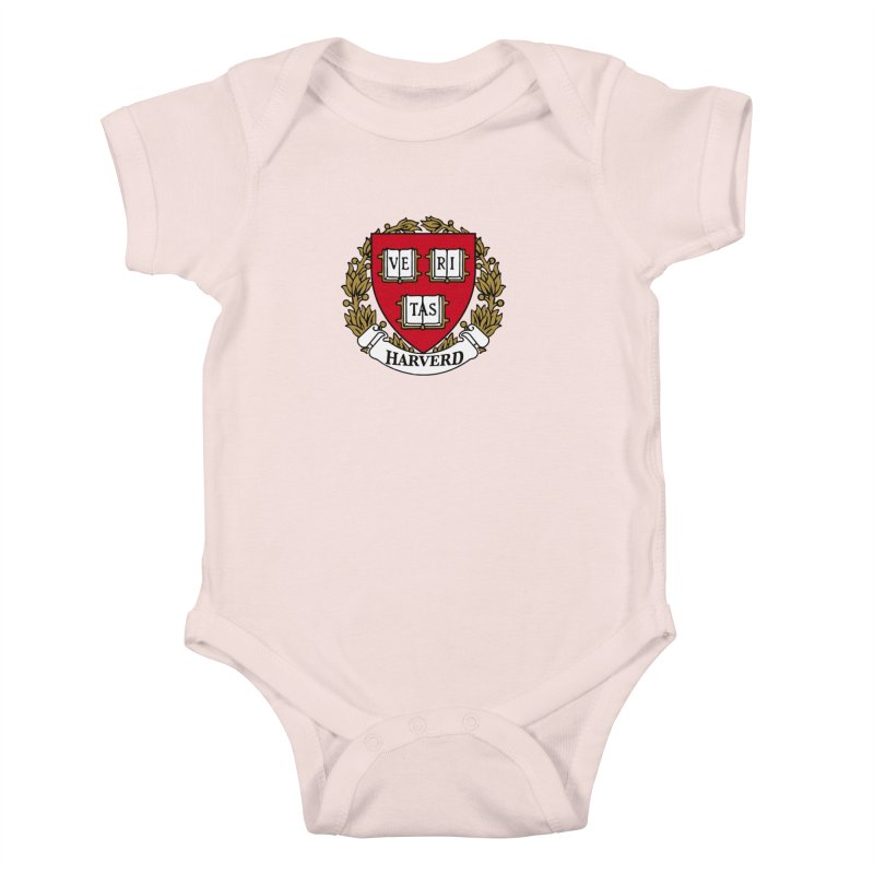 Harverd Kids Baby Bodysuit by The David Feldman Show Official Merch Store