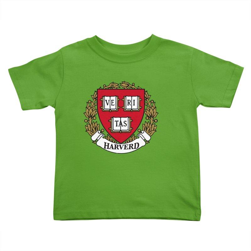 Harverd Kids Toddler T-Shirt by The David Feldman Show Official Merch Store