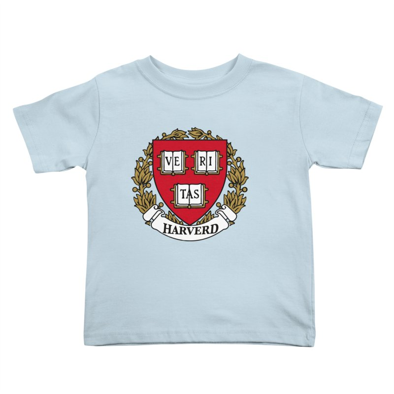 Harverd Kids Toddler T-Shirt by The David Feldman Show Official Merch Store