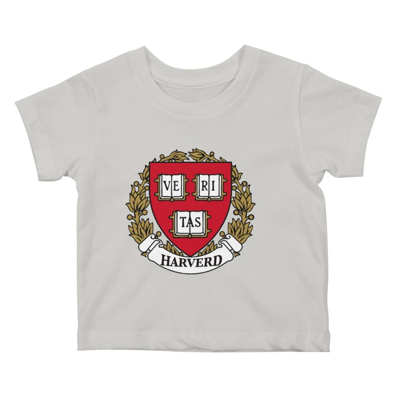Harverd Kids Baby T-Shirt by The David Feldman Show Official Merch Store