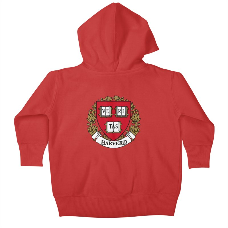 Harverd Kids Baby Zip-Up Hoody by The David Feldman Show Official Merch Store