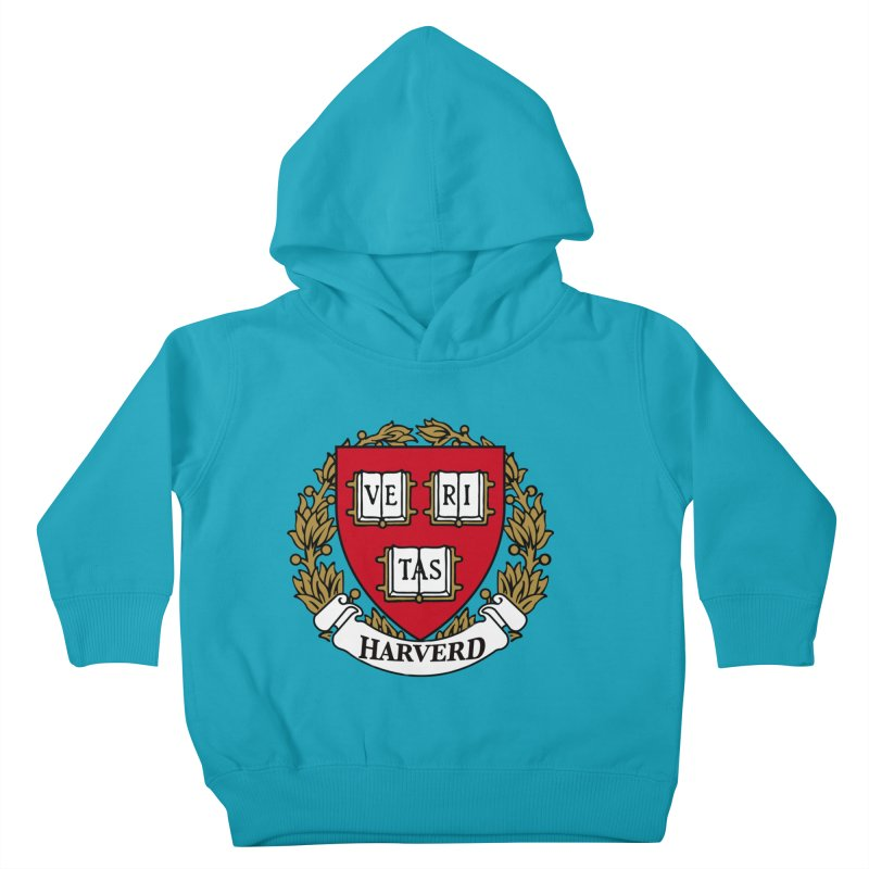 Harverd Kids Toddler Pullover Hoody by The David Feldman Show Official Merch Store