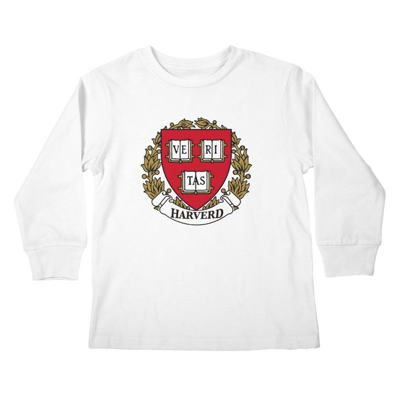 Harverd Kids Longsleeve T-Shirt by The David Feldman Show Official Merch Store