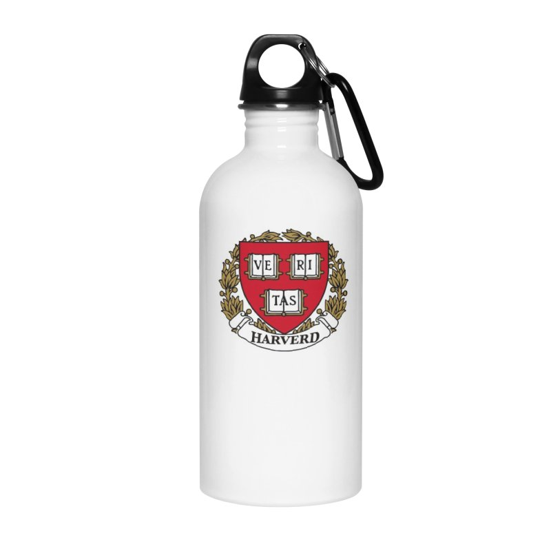 Harverd Accessories Water Bottle by The David Feldman Show Official Merch Store