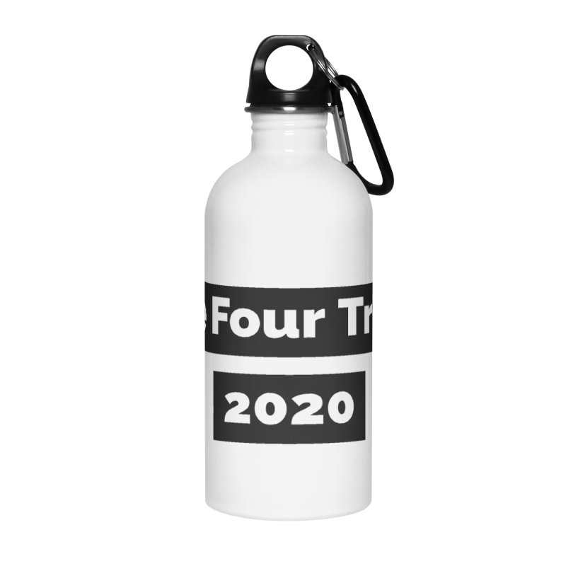 Vote Four Trump Accessories Water Bottle by The David Feldman Show Official Merch Store