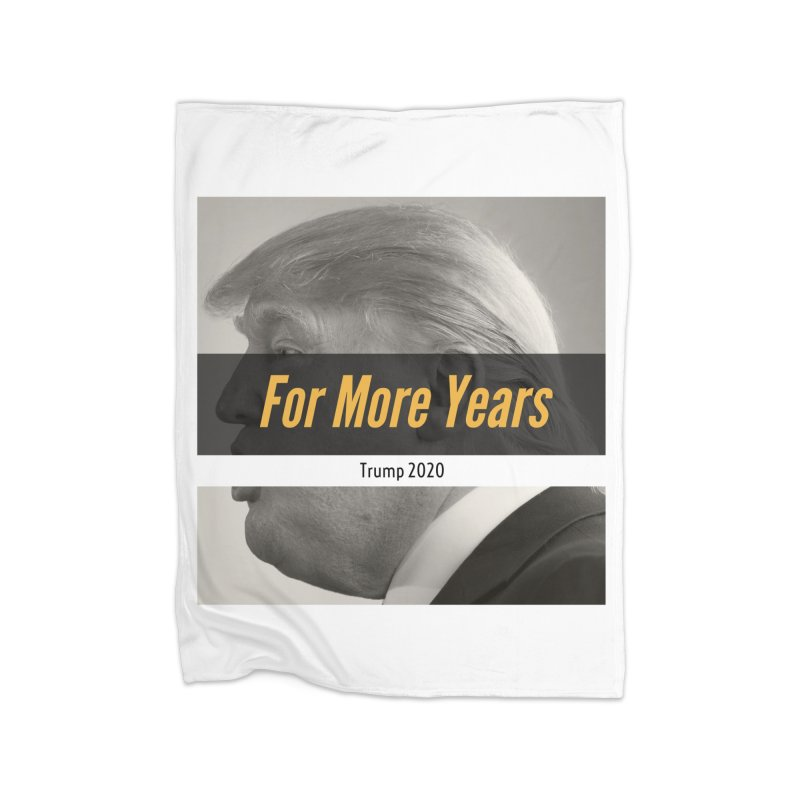For More Years Home Fleece Blanket Blanket by The David Feldman Show Official Merch Store