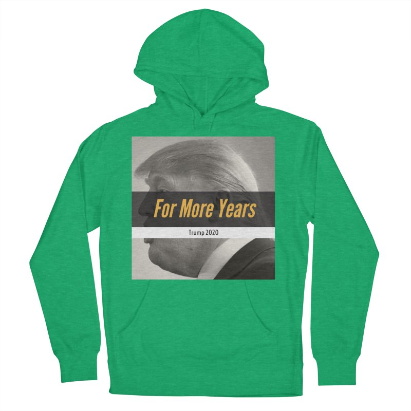 For More Years Men's French Terry Pullover Hoody by The David Feldman Show Official Merch Store