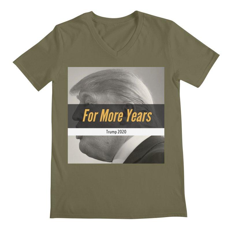 For More Years Men's Regular V-Neck by The David Feldman Show Official Merch Store