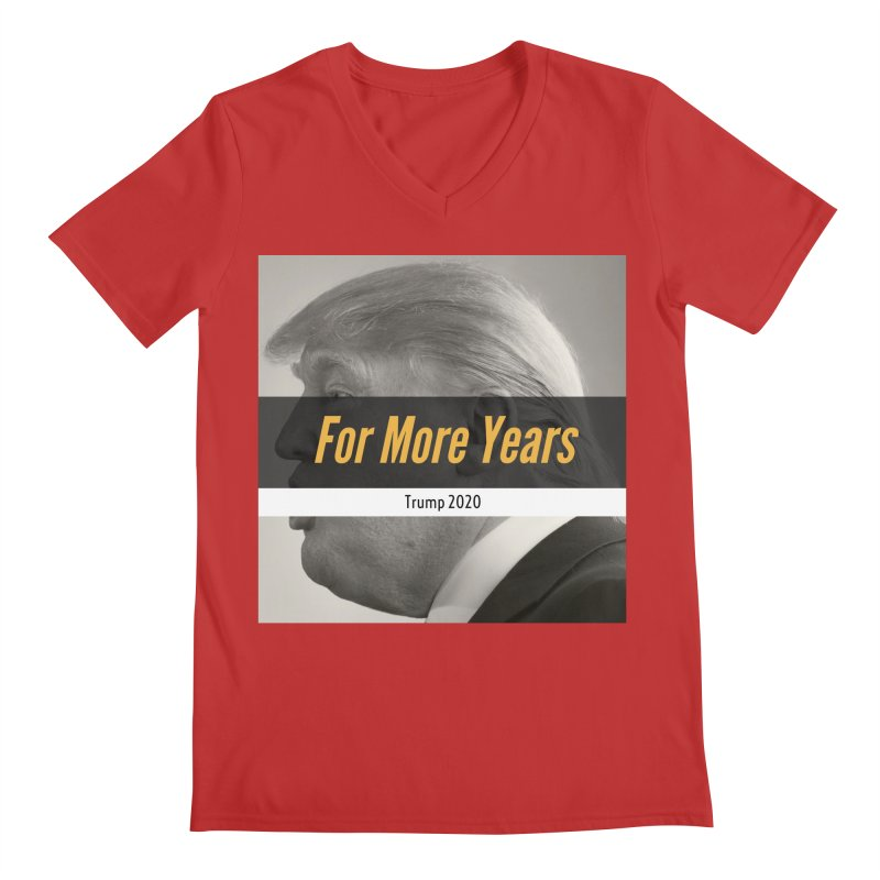 For More Years Men's V-Neck by The David Feldman Show Official Merch Store