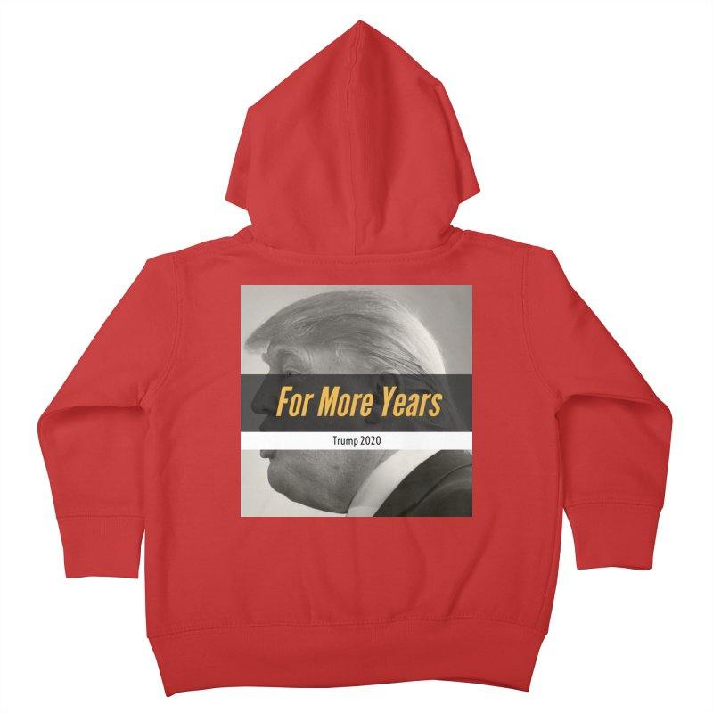 For More Years Kids Toddler Zip-Up Hoody by The David Feldman Show Official Merch Store