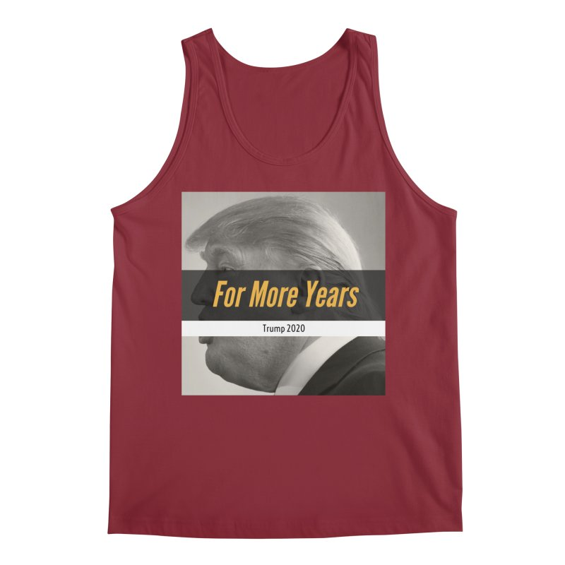 For More Years Men's Regular Tank by The David Feldman Show Official Merch Store