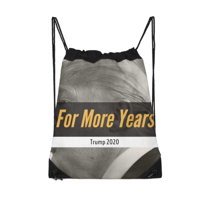 For More Years Accessories Drawstring Bag Bag by The David Feldman Show Official Merch Store
