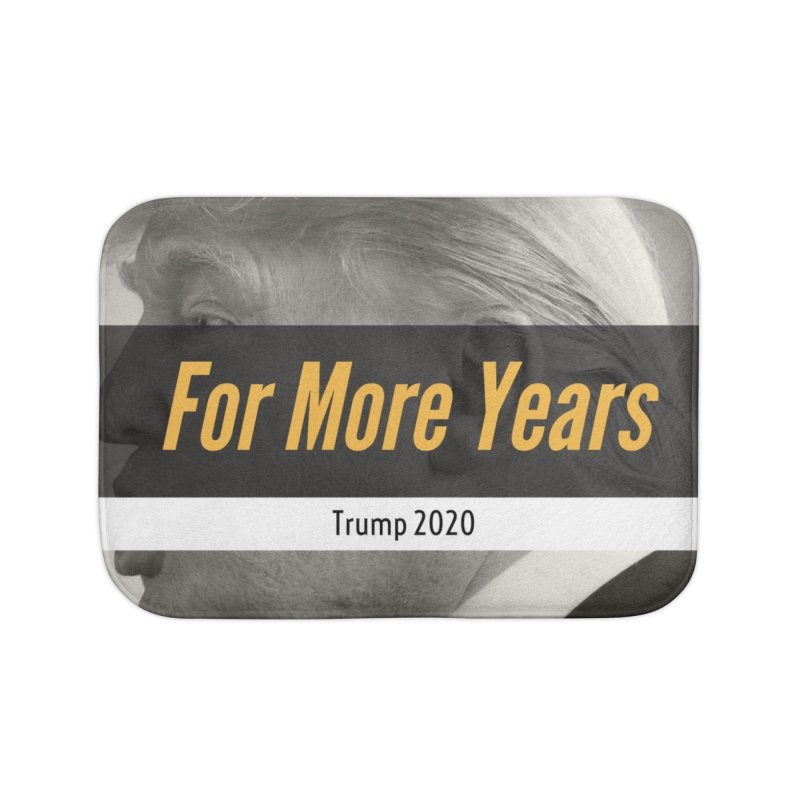 For More Years Home Bath Mat by The David Feldman Show Official Merch Store
