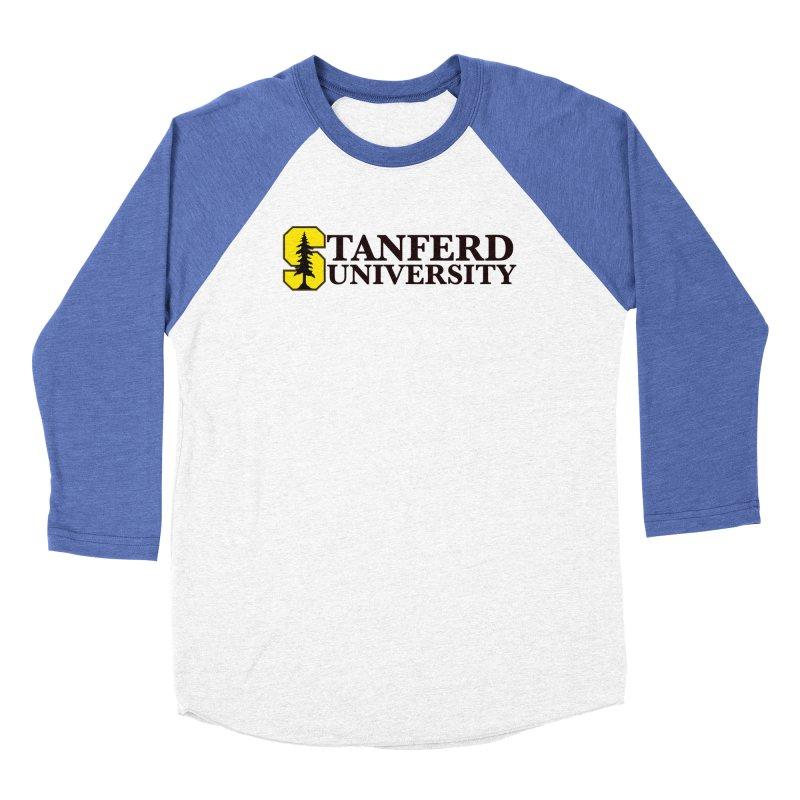 Stanferd Men's Baseball Triblend Longsleeve T-Shirt by The David Feldman Show Official Merch Store