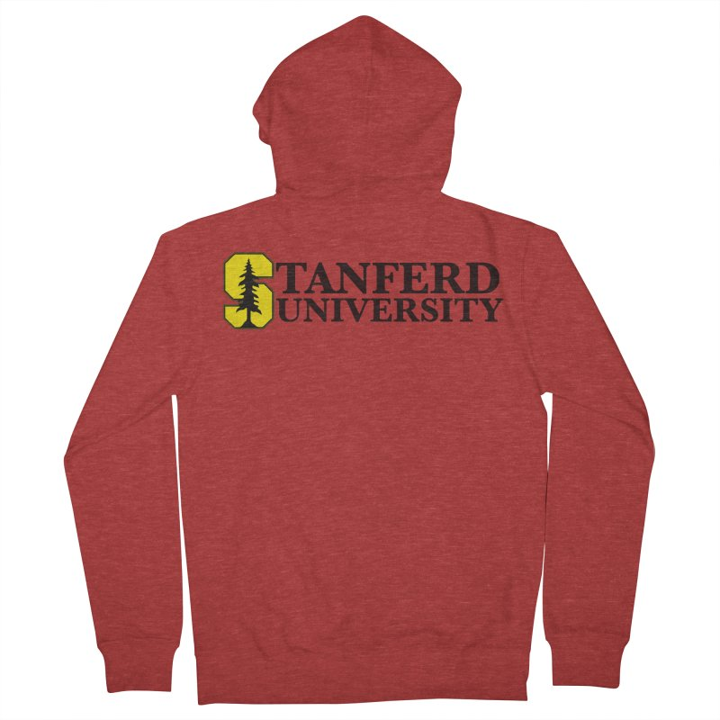 Stanferd Women's French Terry Zip-Up Hoody by The David Feldman Show Official Merch Store