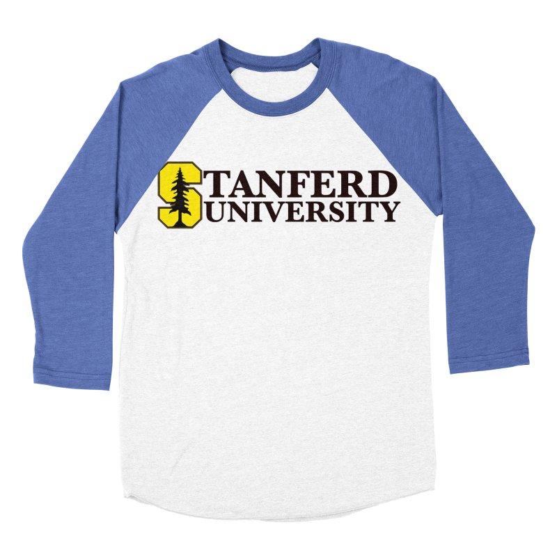 Stanferd Women's Baseball Triblend Longsleeve T-Shirt by The David Feldman Show Official Merch Store