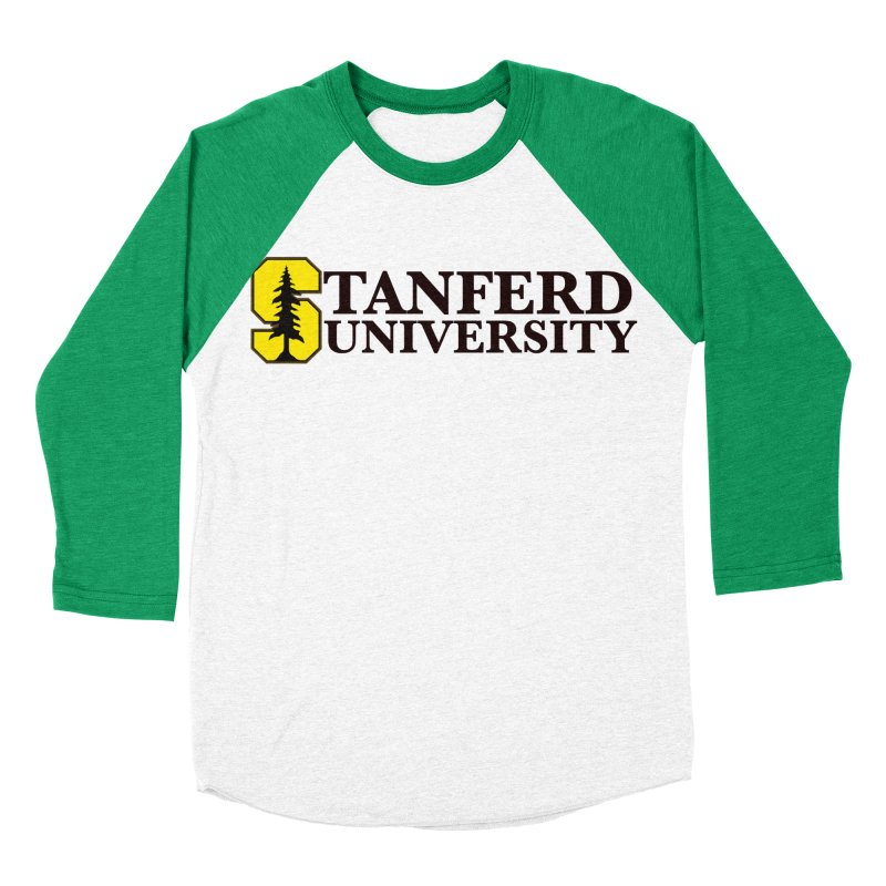 Stanferd Women's Baseball Triblend Longsleeve T-Shirt by The David Feldman Show Official Merch Store