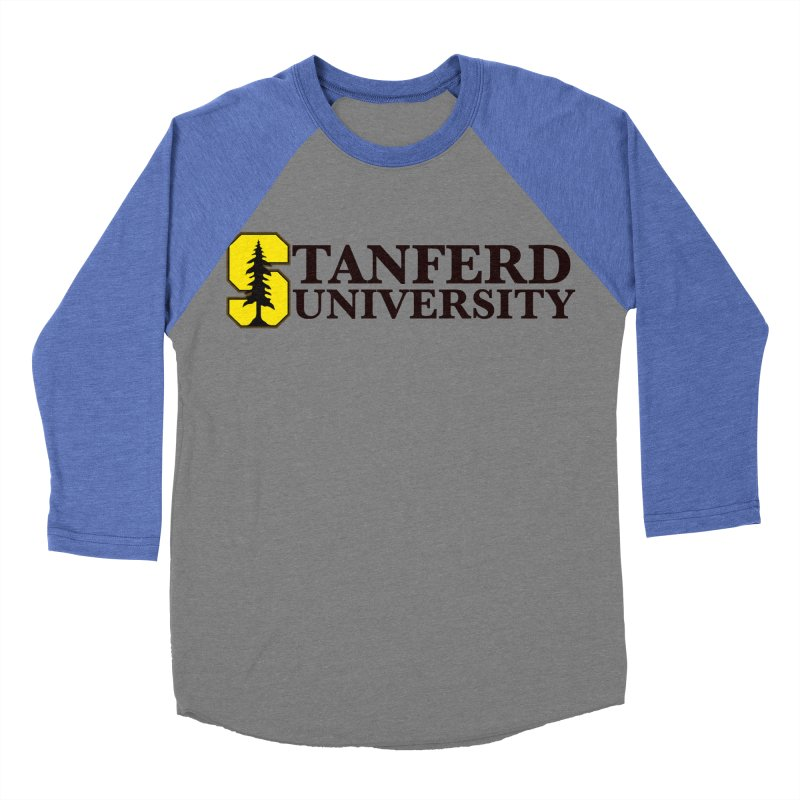 Stanferd Women's Baseball Triblend T-Shirt by The David Feldman Show Official Merch Store