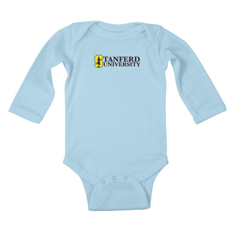 Stanferd Kids Baby Longsleeve Bodysuit by The David Feldman Show Official Merch Store